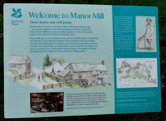 Branscombe Manor Watermill poster