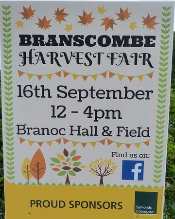 Branscombe event poster