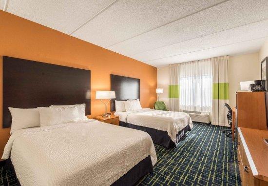 Fletcher, North Carolina: Double/Double Guest Room