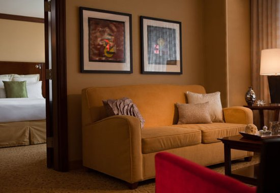 Coralville Marriott Hotel & Conference Center: We offer a Hospitality Suite with a separate bedroom