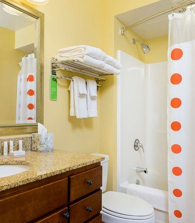 Bowie, MD: Studio Suite Bathroom