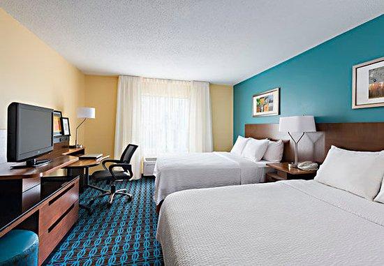 Νάπερβιλ, Ιλινόις: Queen/Queen Guest Room