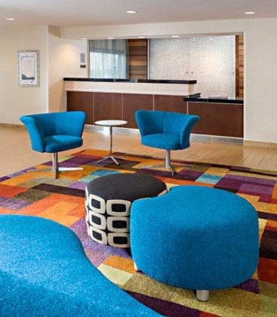 Νάπερβιλ, Ιλινόις: Front Desk & Lobby