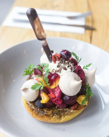Moonee Ponds, Austrália: Black Forest French Toast