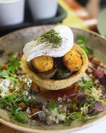 Moonee Ponds, Australia: Mushroom Tart