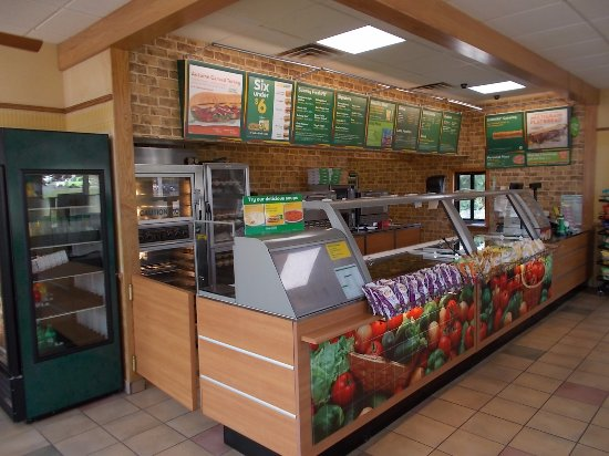 Subway, N. Stephenson Ave next to Super 8, Iron Mountain, MI.