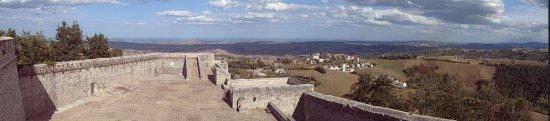 Civitella del Tronto, Ιταλία: Vue depuis la forteresse