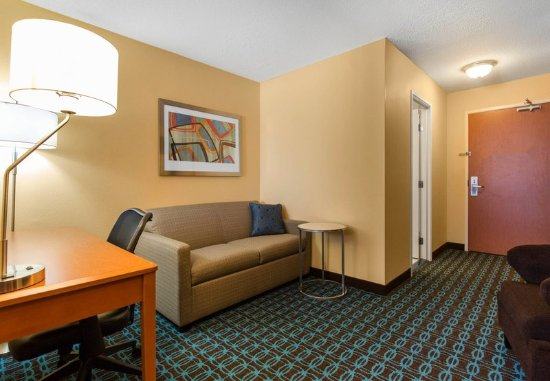 Saint Cloud, MN: Executive King Suite - Living Area