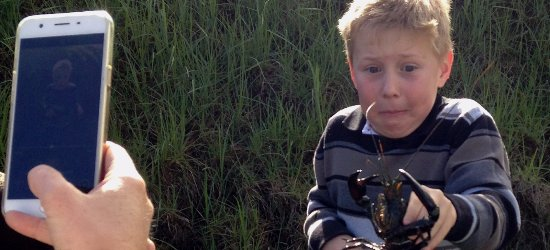 Wilyabrup, Austrália: Kids activities include Marron trapping (catch and release)