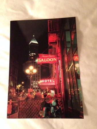 Best Western Plus Pioneer Square Hotel: Free postcard!