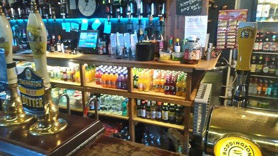 Low Row, UK: The Bar