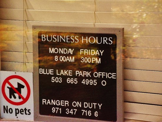 Fairview, OR: Blue Lake Office hours