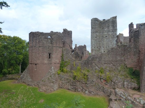 Part of Goodrich Castle - 18 September 2017