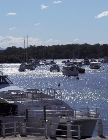 Huskisson Wharf view