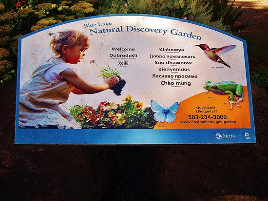 Fairview, OR: a nice garden for the kids