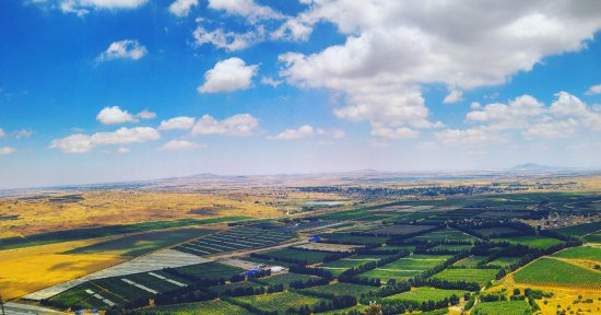 Kuneitra Valley Syria From Mount Bental Picture Of Shuki Cohen