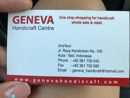 Geneva Handicraft Center: photo0.jpg