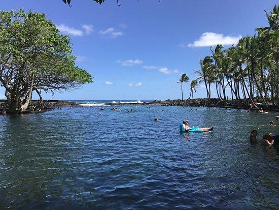 Pahoa, Hawái: Ahalanui Hot Spring