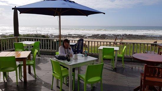 Jeffreys Bay, Zuid-Afrika: The deck