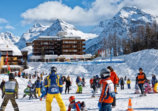Arosa Kulm Hotel & Alpin Spa: Ski-In Ski-out