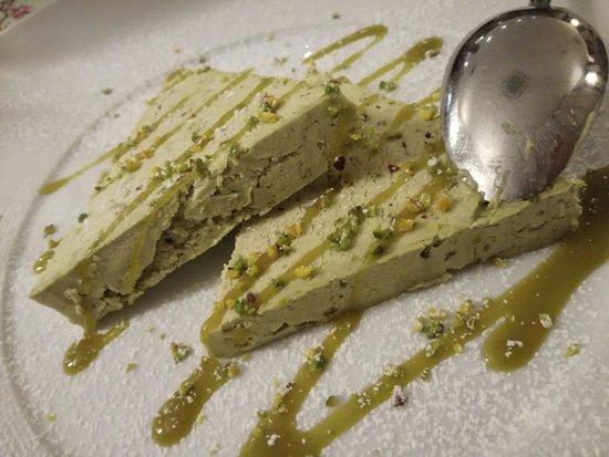 Ristorante Don Giovanni: Semifreddo al pistacchio