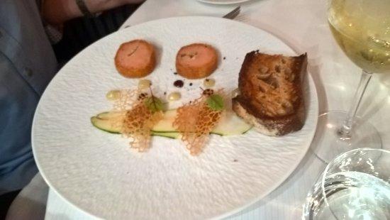 Cande-sur-Beuvron, Frankrijk: le foie gras raffiné