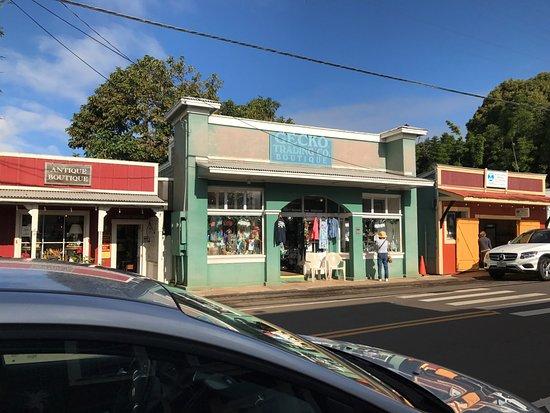 Макаво, Гавайи: Main street Makawao