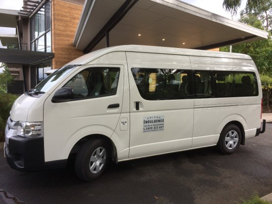‪‪Yarra Valley‬, أستراليا: For larger groups, we can cater for transport with a comfy 11 seat mini bus.‬
