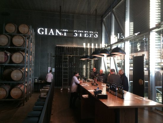 Yarra Valley, Australia: The sights and smell of the cellar at Giant Steps will amaze you (and the wine is even better)!.