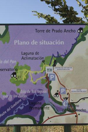 Tablas De Daimiel Mapa.Plano Fotografia De Parque Nacional De Las Tablas De