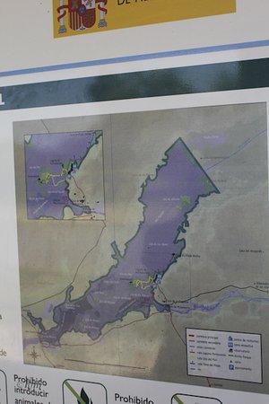 Tablas De Daimiel Mapa.Mapa Fotografia De Parque Nacional De Las Tablas De Daimiel