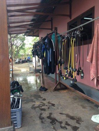 Pemuteran, Indonesië: After dive