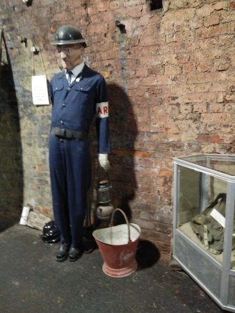 Ramsgate, UK: Air Raid Warden