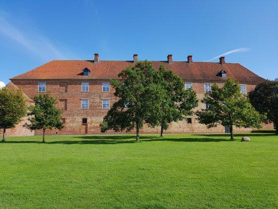 Sønderborg Slot: Rückansicht