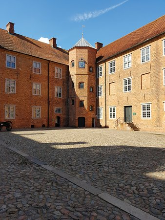 Sønderborg Slot: Innenhof