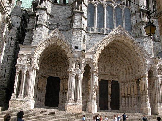 Chartres, Francia: portale