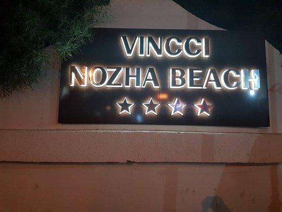Vincci Nozha Beach Resort: Aussenschild des Hotels