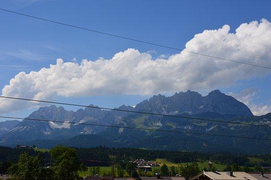 Oberndorf, Østrig: Vista dalla finestra