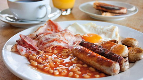 Feltham, UK: Open for Breakfast from 7am