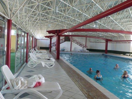 Hotel Grand Torino: Im Hallenbad war die Wassergymnastik ein Hit !