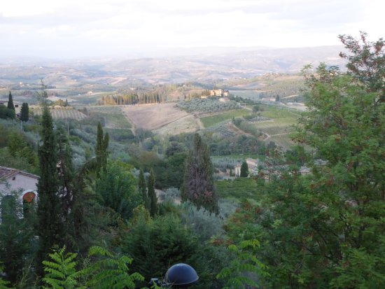 view from the window - picture of bel soggiorno, san gimignano ... - Hotel Bel Soggiorno San Gimignano Tripadvisor 2