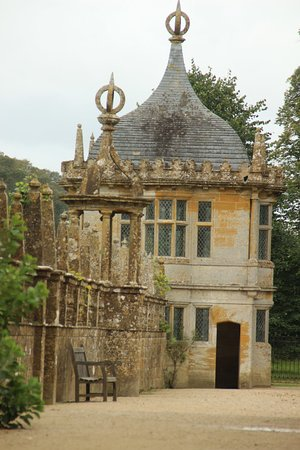 Montacute, UK: part of the house