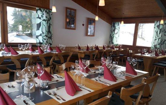 Braunwald, Ελβετία: Im Restaurant