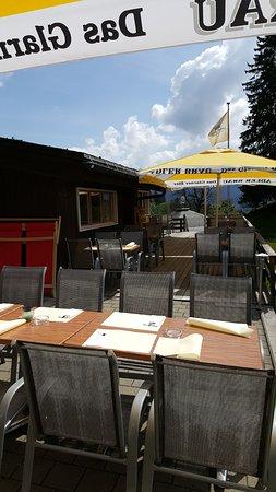 Braunwald, สวิตเซอร์แลนด์: Terrasse