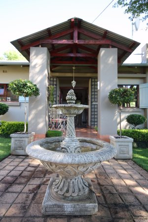 Ambiance Guest House: Our beautiful water feature