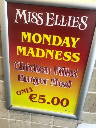 Tipperary, Ιρλανδία: Miss ellies Takeaway