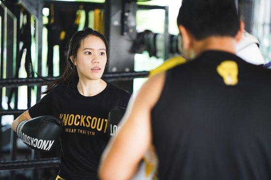 Samut Prakan Province, Tailandia: Muay Thai training