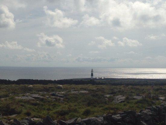 Doolin, Ireland: Inís Oírr Lighthouse