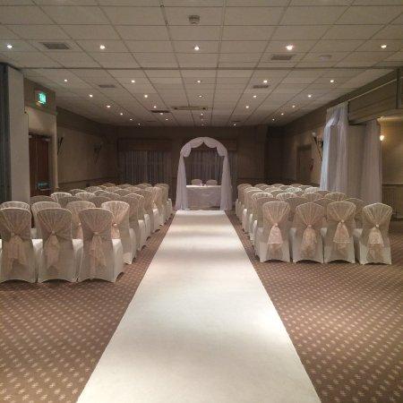 Mollington, UK: Wedding venue in Chester