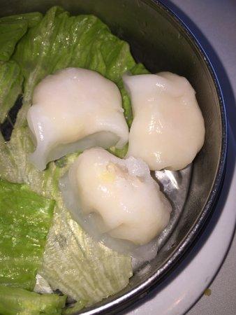 Rocky Point, Estado de Nueva York: Shrimp dumplings